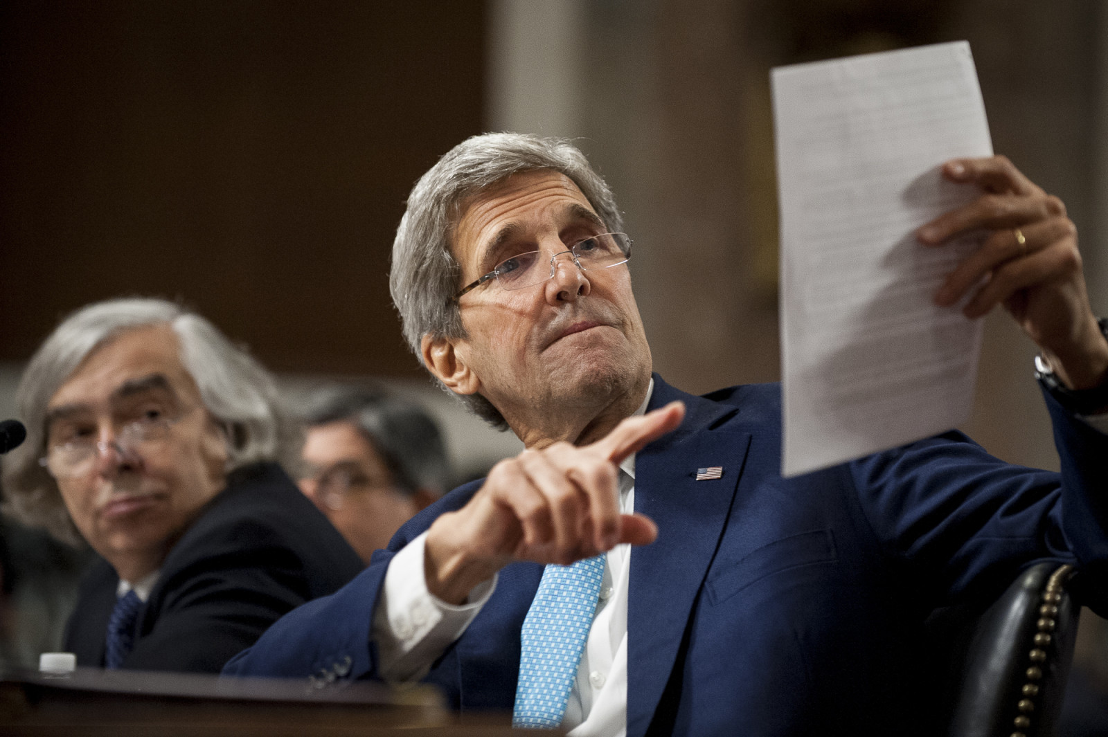 U.S. Senate Holds First Hearing on Iran Nuclear Agreement